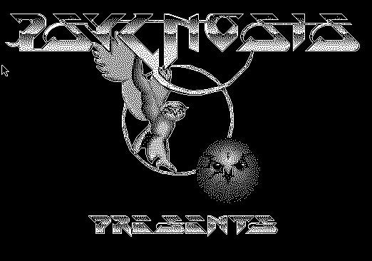 Psygnosis logo on Macintosh