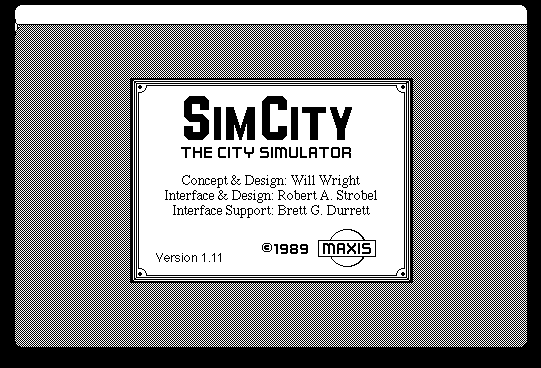 SimCity for Macintosh