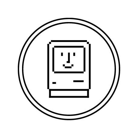 VintageAppleMac.com logo ico