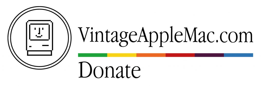 Donate to VintageAppleMac.com via https://www.paypal.me/vintageapplemac or via https://www.patreon.com/vintageapplemac
